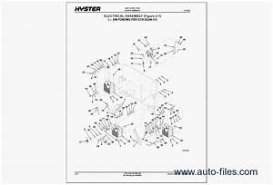 Hyster Forklift Pdf  Repair Manuals Download  Wiring