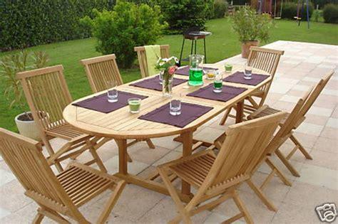 pickering teak garden furniture set hunters  yorkshire