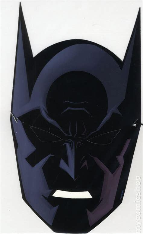 paper mask batman 75th anniversary paper mask 2014 dc comic books