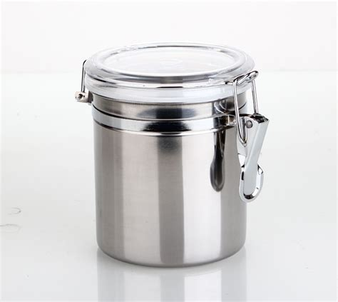 clear canisters kitchen stainless steel airtight canister kitchen storage jars