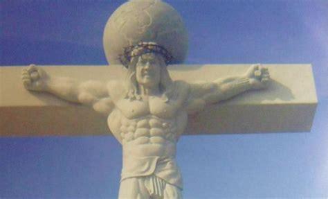 buff jesus crucifix dangerous minds