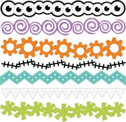 SVG Halloween Borders