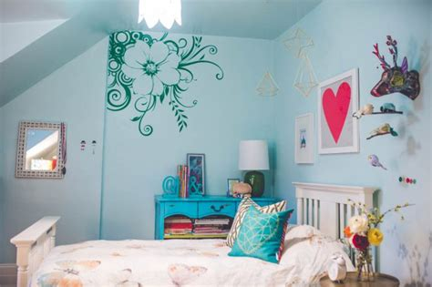 turquoise  kelly green girl bedroom archives damask
