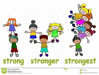 Strong Stronger Strongest