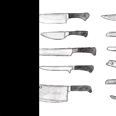 Types Of Kitchen Knives by Types Of Kitchen Knives And Their Uses Dandk Organizer