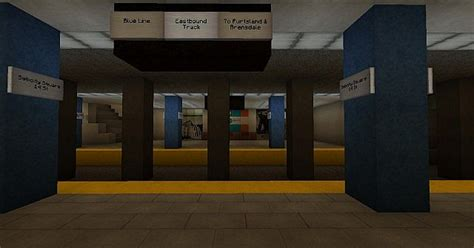 authentic  york subway station minecraft map