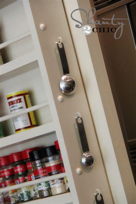 Door Spice Rack Plans by Pantry Ideas Diy Door Spice Rack Shanty 2 Chic