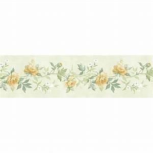 Norwall Casual Rose Wallpaper Border