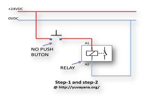How Create Relay Logic Circuit With Examples Engineer