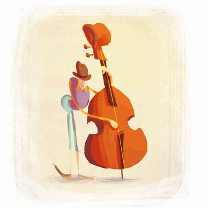 Animated Animation Bass Double Gifs Musik Drum
