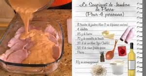 cuisine de julie saupiquet de jambon de recettes les carnets de