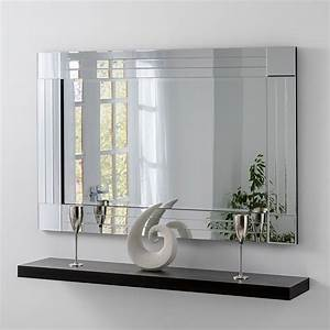 Contemporary, Triple, Bevelled, Wall, Mirror