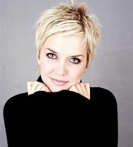 Coiffure Blonde Courte : magnifiques coupes courtes pour femmes coiffure simple et facile ~ Melissatoandfro.com Idées de Décoration