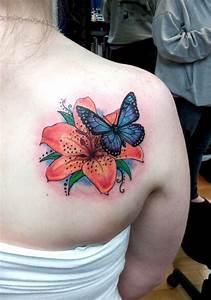 20+ Inspiring 3D Tattoos On Back Shoulder