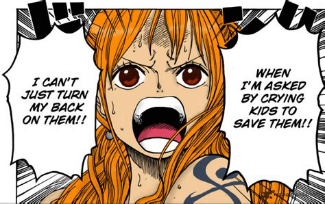 One Piece Nami Coloring Ch. 658 By T-j-t On Deviantart