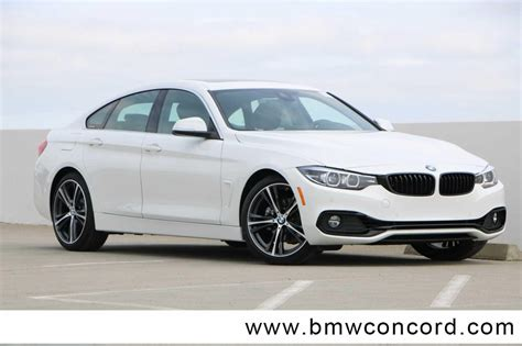2020 bmw 4 series gran coupe new 2020 bmw 4 series 430i gran coupe 4dr car in concord