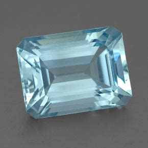 light blue gemstone 4ct light blue aquamarine gem from india karur