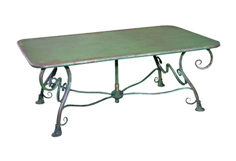 table basse de jardin rectangulaire en m 233 tal fer forg 233 arras