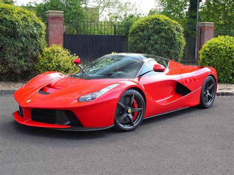 Ferrari Laferrari With Only 73 Miles For Sale In The Uk