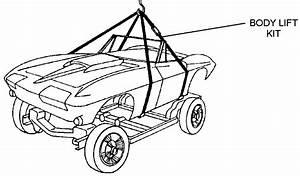 Body Lift Kit - Diagram View