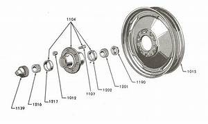 Front Wheel Parts For Ford 9n  U0026 2n Tractors  1939