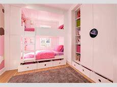 Thiết kế giường tầng cho phòng ngủ của hai bé