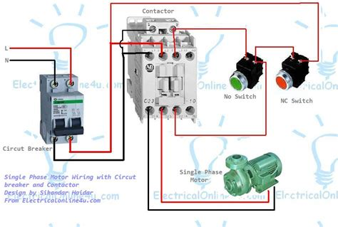 Magnetic Contactor Wiring Diagram by Siemens Motor Wiring Diagram Impremedia Net
