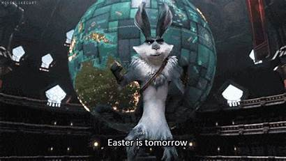Easter Bunny Animated Tomorrow Rise Happy Gifs
