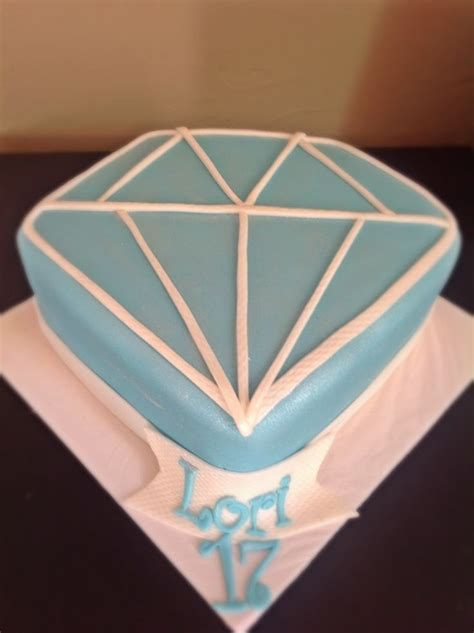 images  diamond cake  pinterest birthdays