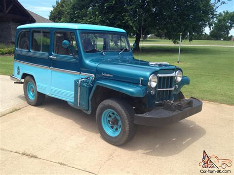 jeep station wagon for sale 1961 willys station wagon 4x4