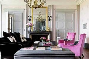 15 modern interior decorating ideas blending gray and pink With decoration maison de maitre