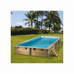 Sable Piscine Hors Sol : piscine bois azura ubbink 350x505cm h 126cm liner bleu sable ~ Farleysfitness.com Idées de Décoration