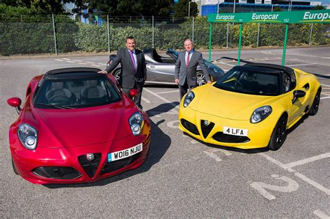 Alfa Romeo 4c Spider Added To
