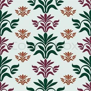 Vintage beautiful background with leaf ornamentation