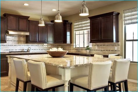 large kitchen islands with seating for 6 kitchen island with seating for six simply white 9878