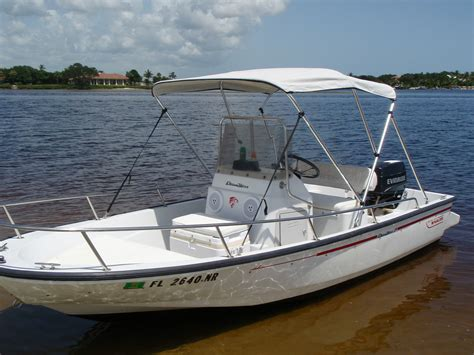 15 Ft Boat by Boston Whaler 15 Foot Dauntless 1995 For Sale For 5 500