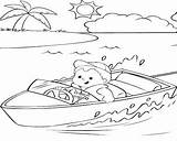 Boat Row Coloring Pages Fishing Printable Getcolorings sketch template