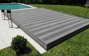 Abri De Terrasse Coulissant : plancher coulissant terrasse mobile piscine plancher ~ Dode.kayakingforconservation.com Idées de Décoration