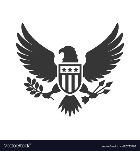 91,000+ vectors, stock photos & psd files. American presidential national eagle sign on white , # ...