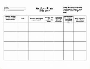 6 sample action plan template teknoswitch With written action plan template