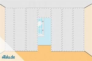 Nichttragende Wand Entfernen Anleitung : trockenbauwand mit gipskartonplatten errichten ~ Markanthonyermac.com Haus und Dekorationen