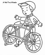 Coloring Pages Bicycle Printable Craft Related Posts Print sketch template