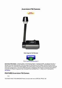avervision f50 camera With avervision f50 document camera