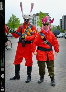 Desucon 2015 - TF2 RED Pyro and Soldier by OrwellianStuff ...
