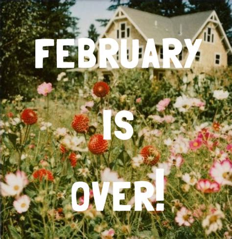 February Is Over! Pictures, Photos, and Images for ...