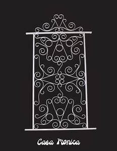 Grille Metal Decorative : casa monica style decorative screen door grille aluminum white bronze black decorative ~ Melissatoandfro.com Idées de Décoration