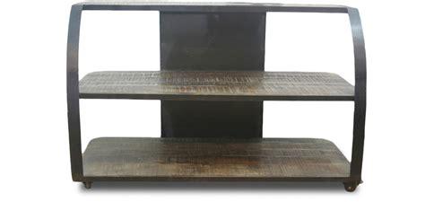 cuisine type industrielle meuble tv style industriel grange co bois pas cher