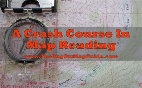 map reading skills never get lost again