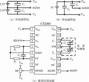 The Typical Application Circuit Of Capacitive Sensor