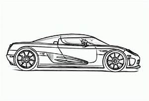 Dibujos de autos Bugatti para colorear